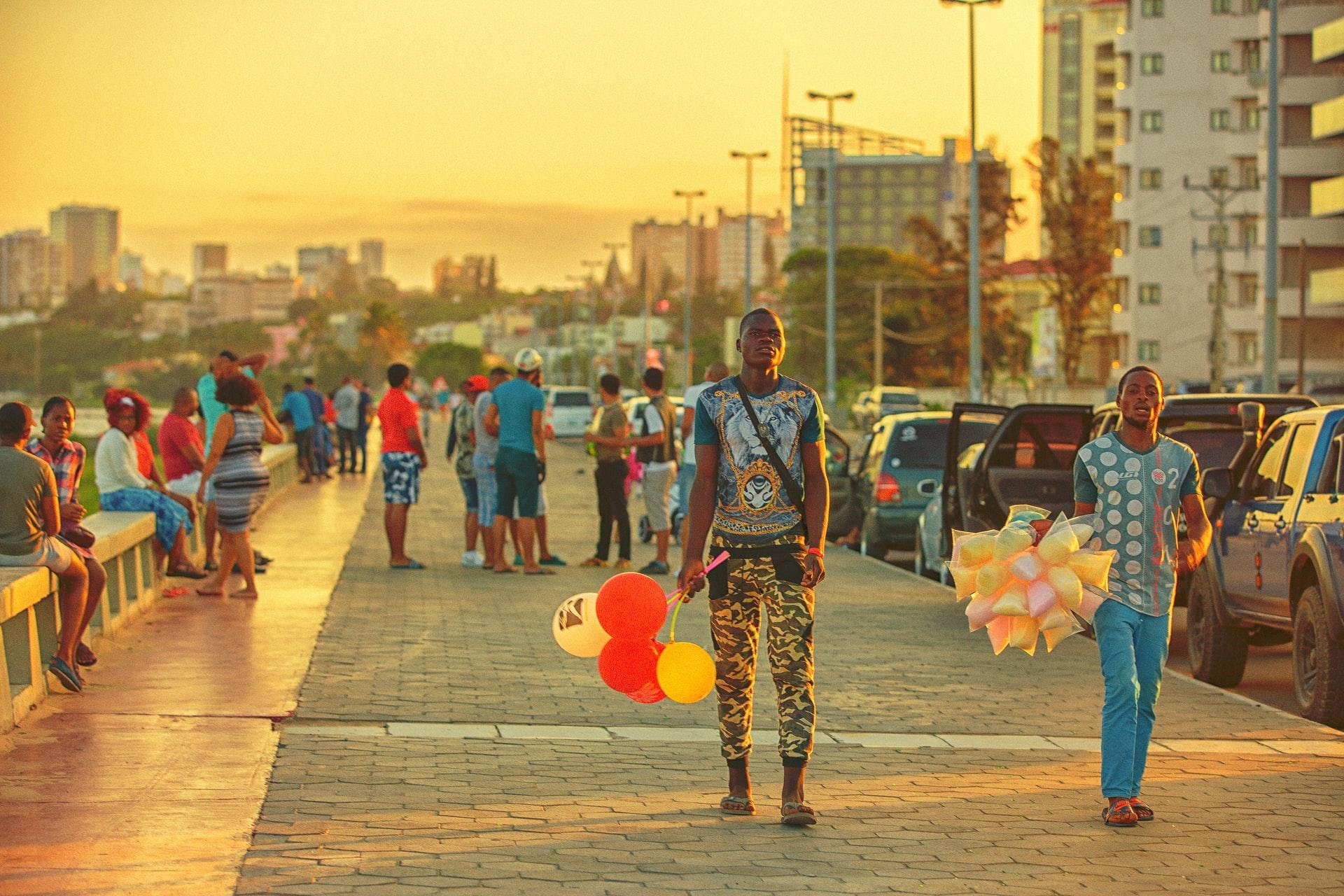 Maputo avenida da Marginal
