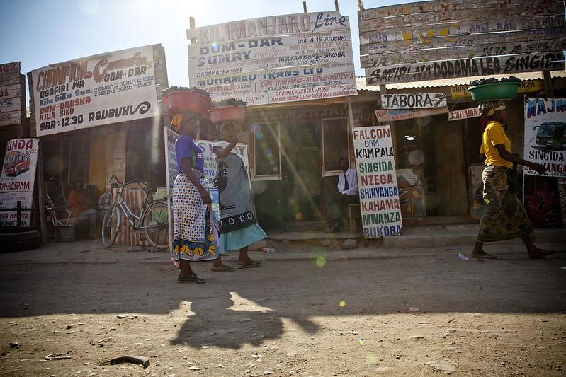 dodoma bus station women hawkers