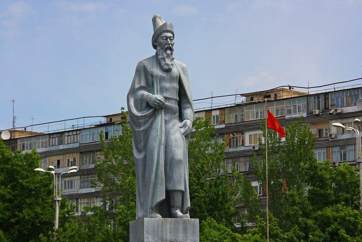 bishkek statue