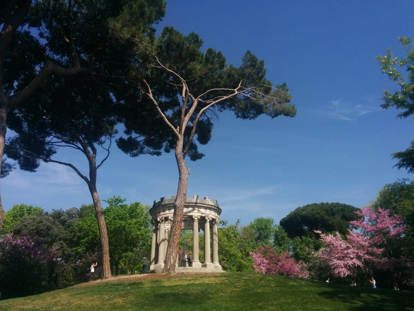 gazebo capricho garden
