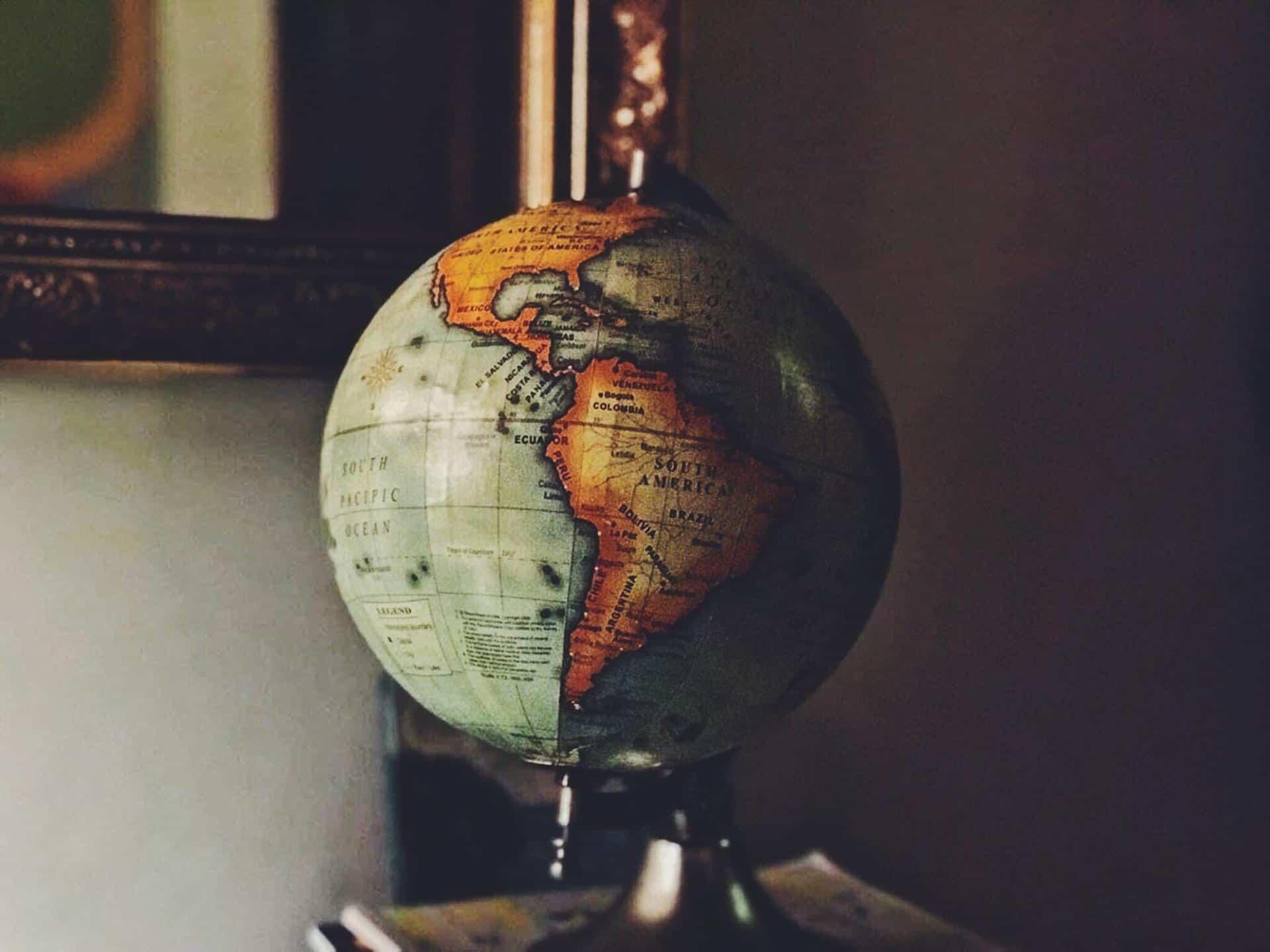globe of america