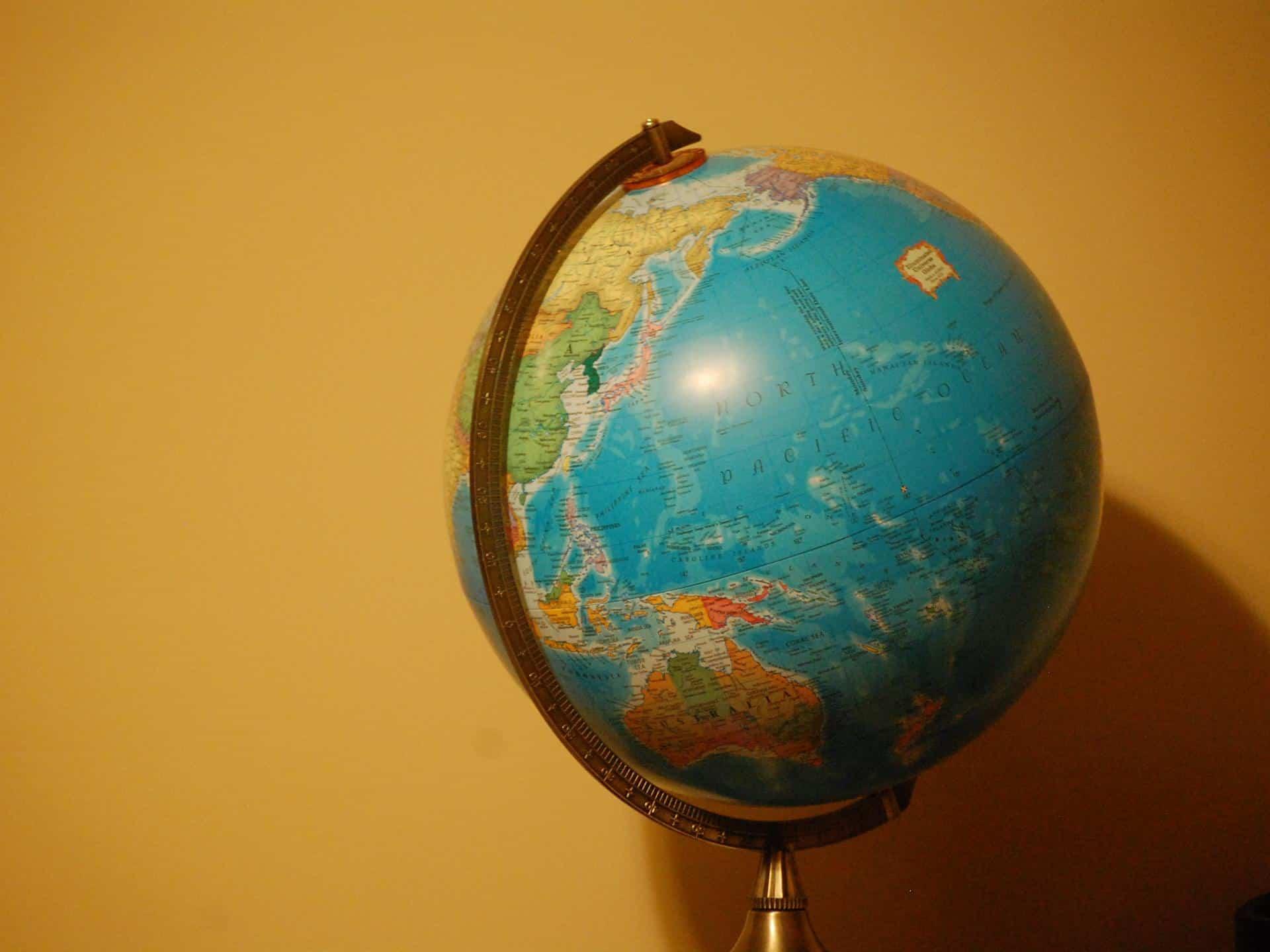 globe of australasia