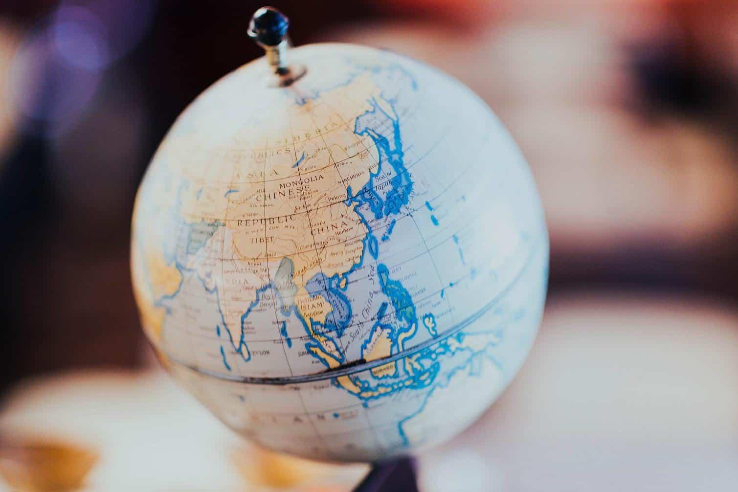 globe of china