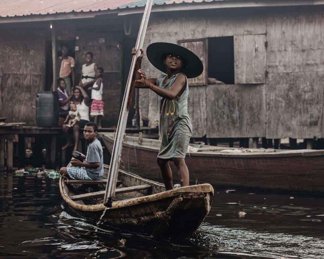 makoko lagos boat