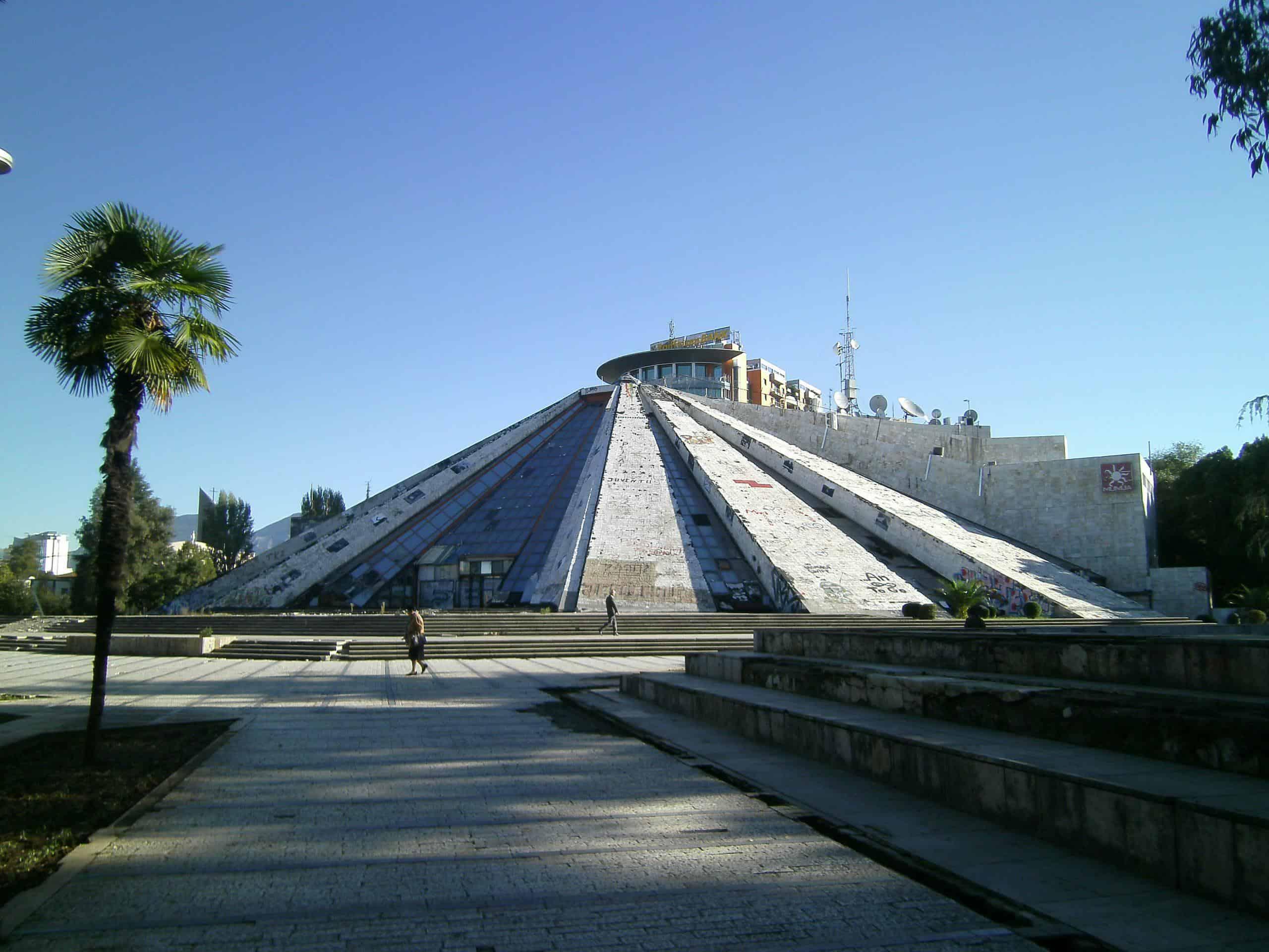 tirana albania pyramid