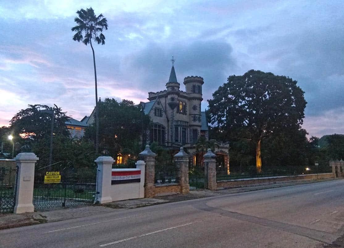 port of spain trinidad tobago dusks