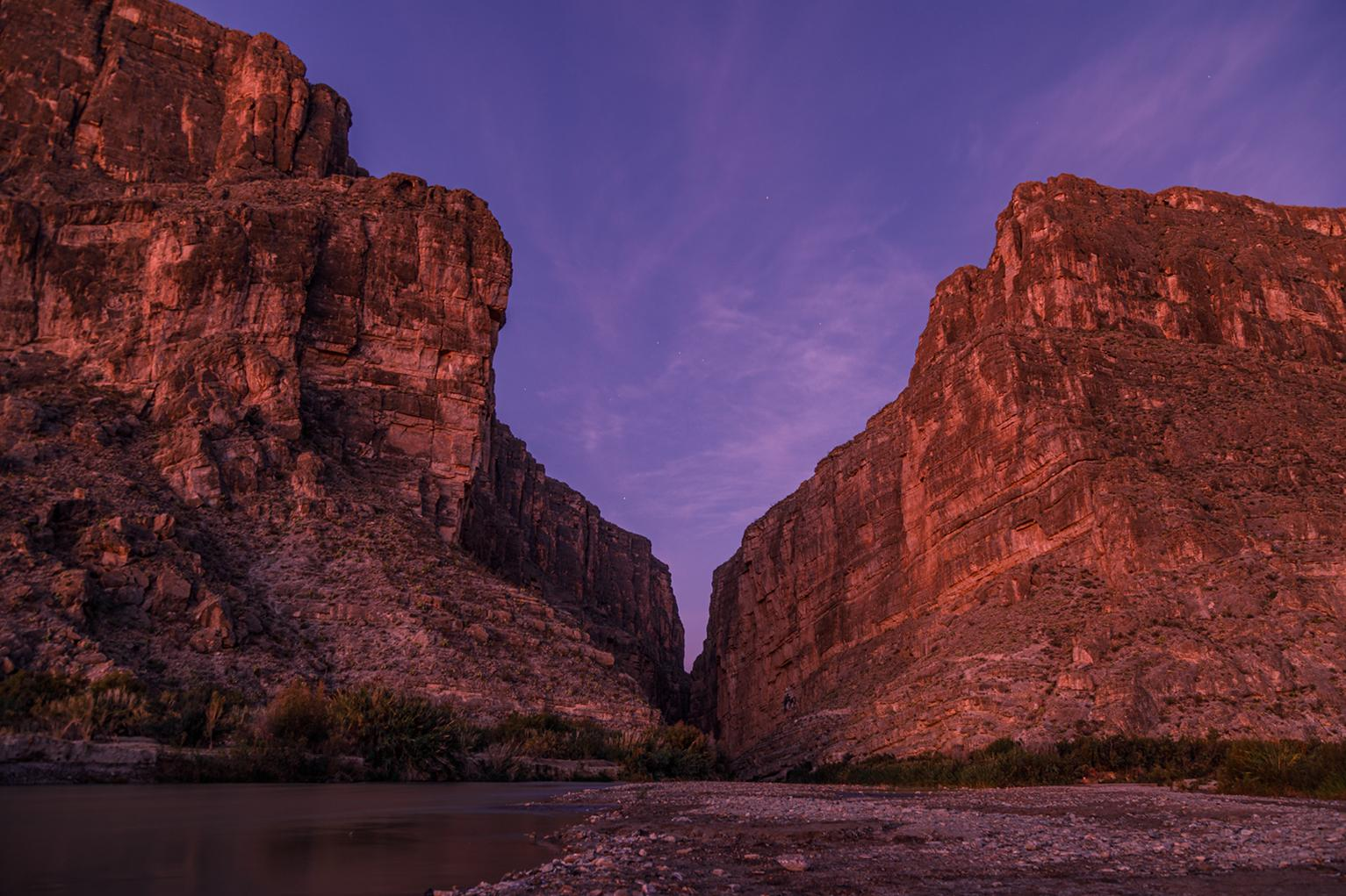 big bend texas usa santa elena canyon