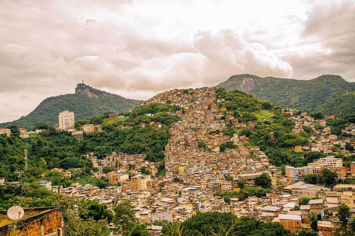 favelas rio de janeiro brazil morro do fallet