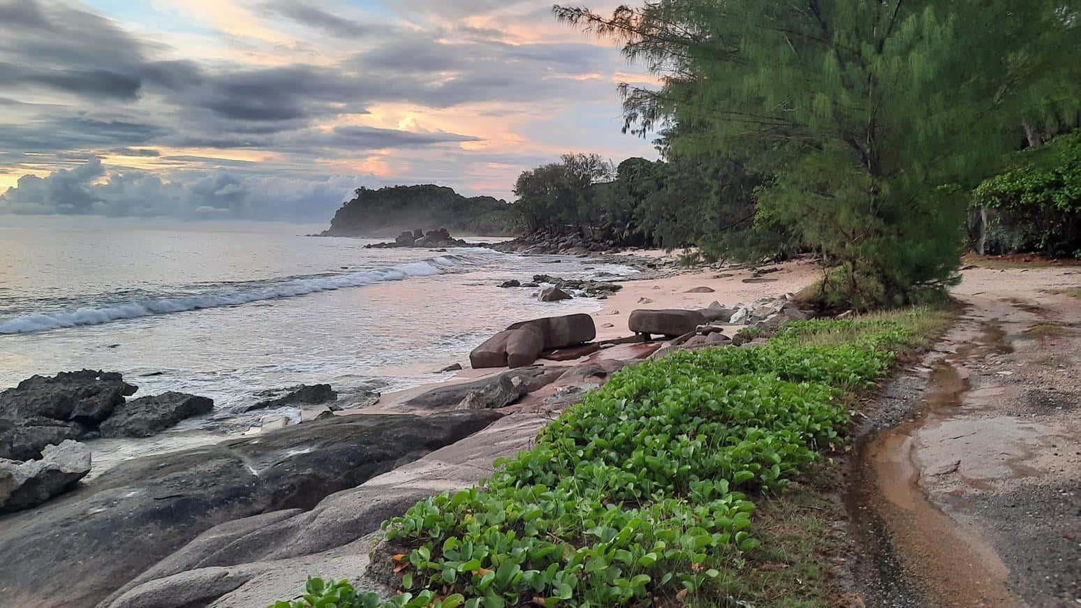 police bay seychelles mahe petite police beach