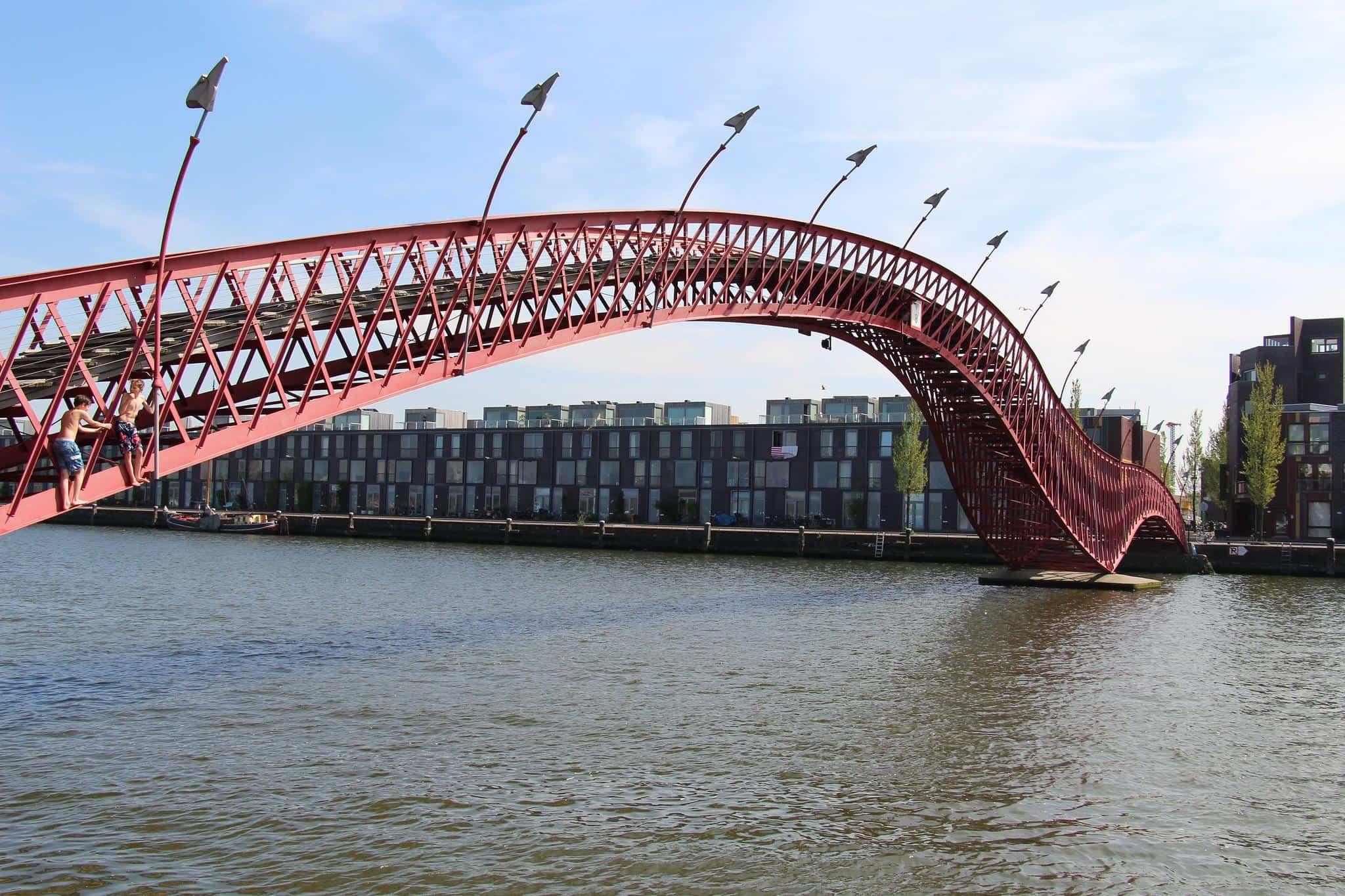 amsterdam netherlands pythonbrug