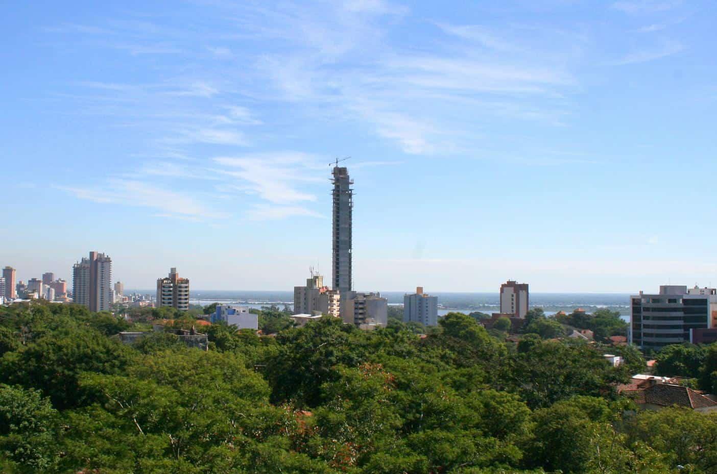 ausncion paraguay torre icono