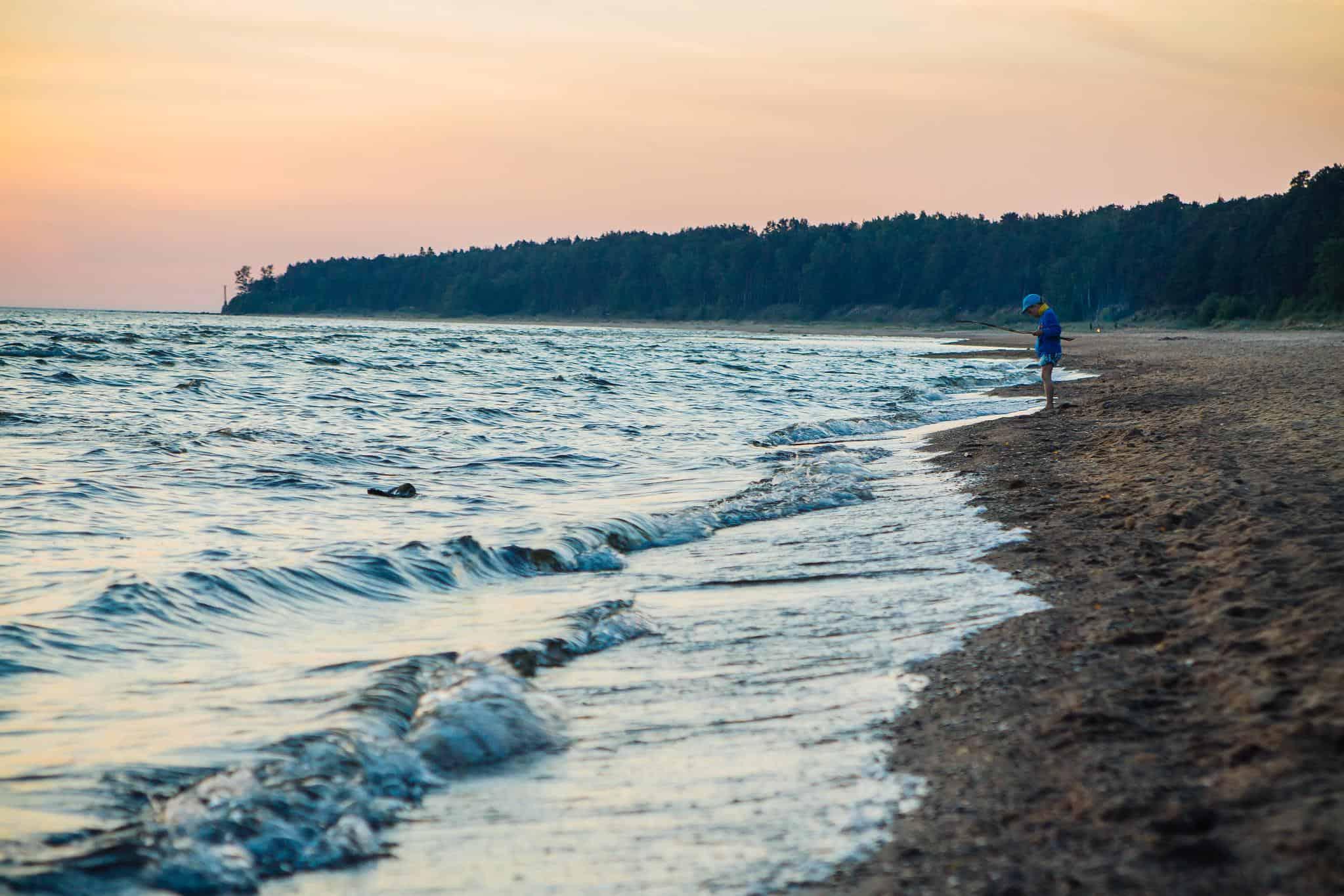 tuja latvia beach
