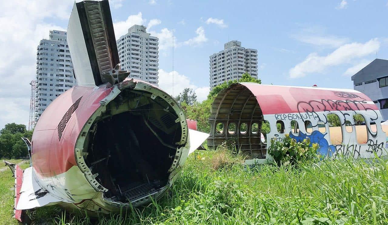 bangkok thailand airplane graveyard