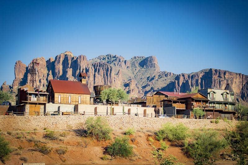 arizona usa kearny goldfield ghost town