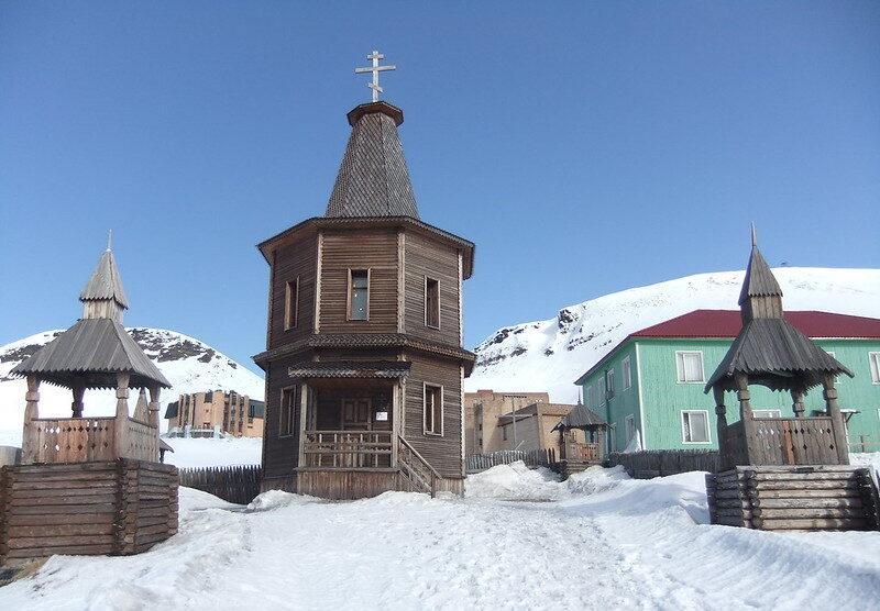 barentsburg svalbard norway orthodox church