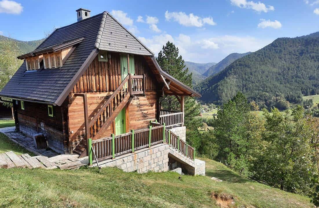 drvengrad serbia house landscape