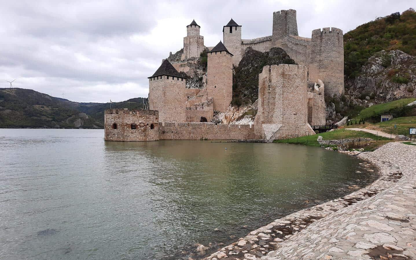 golubac fortress serbia danube view