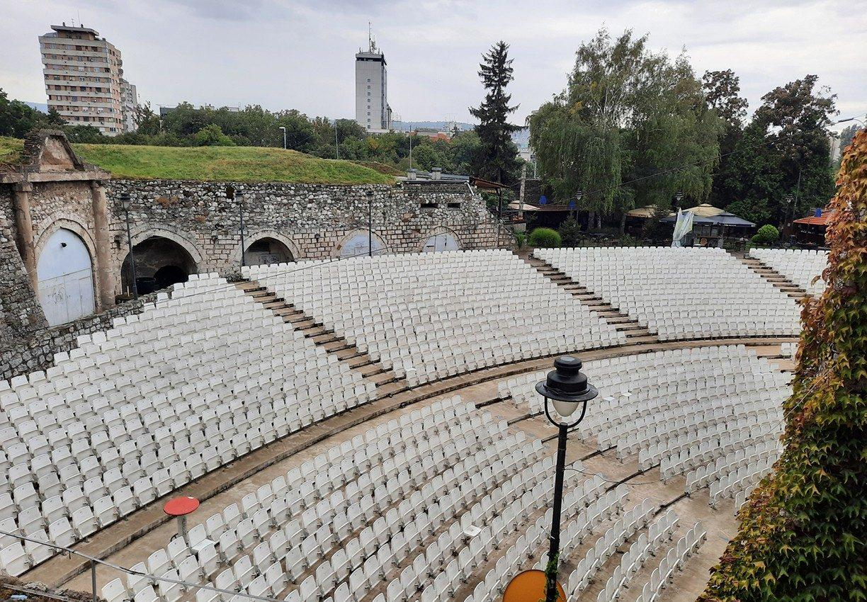 nis serbia fortress amphitheatre