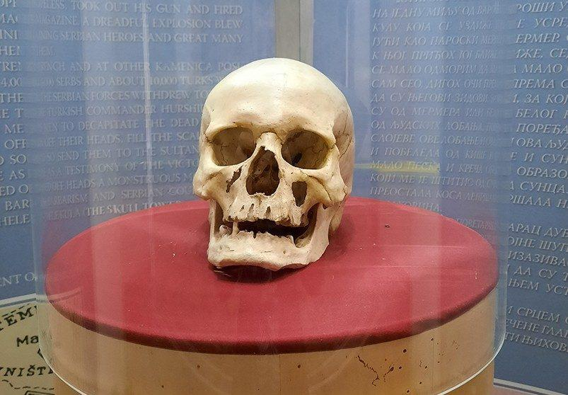 nis serbia tower of skulls sindjelic