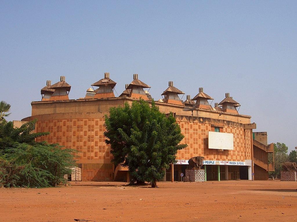ouagadougou burkina faso maison du peuple