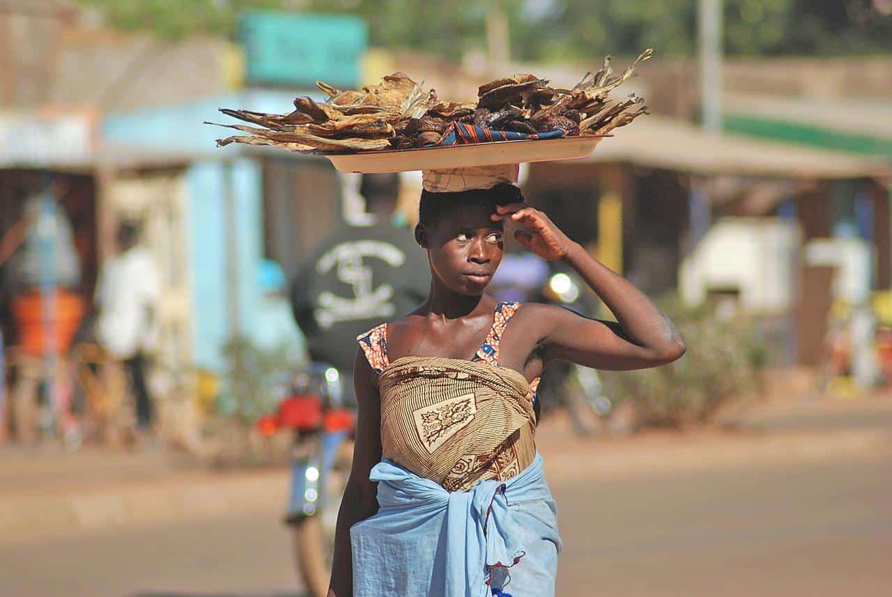 ouagadougou burkina faso street hawker