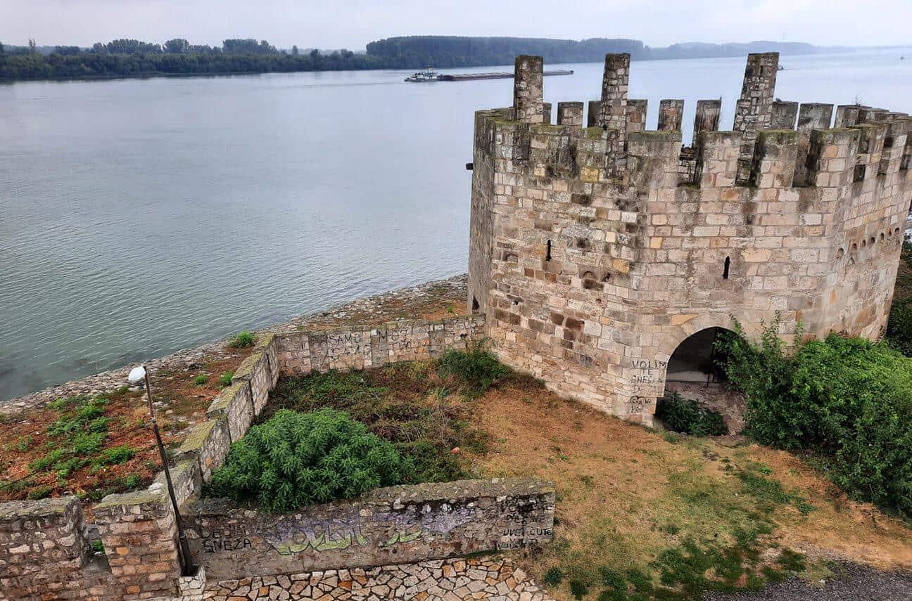 smederevo serbia fortress danube view