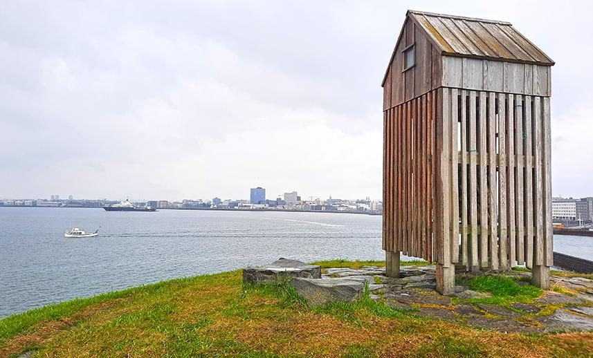 thufa iceland wooden hut