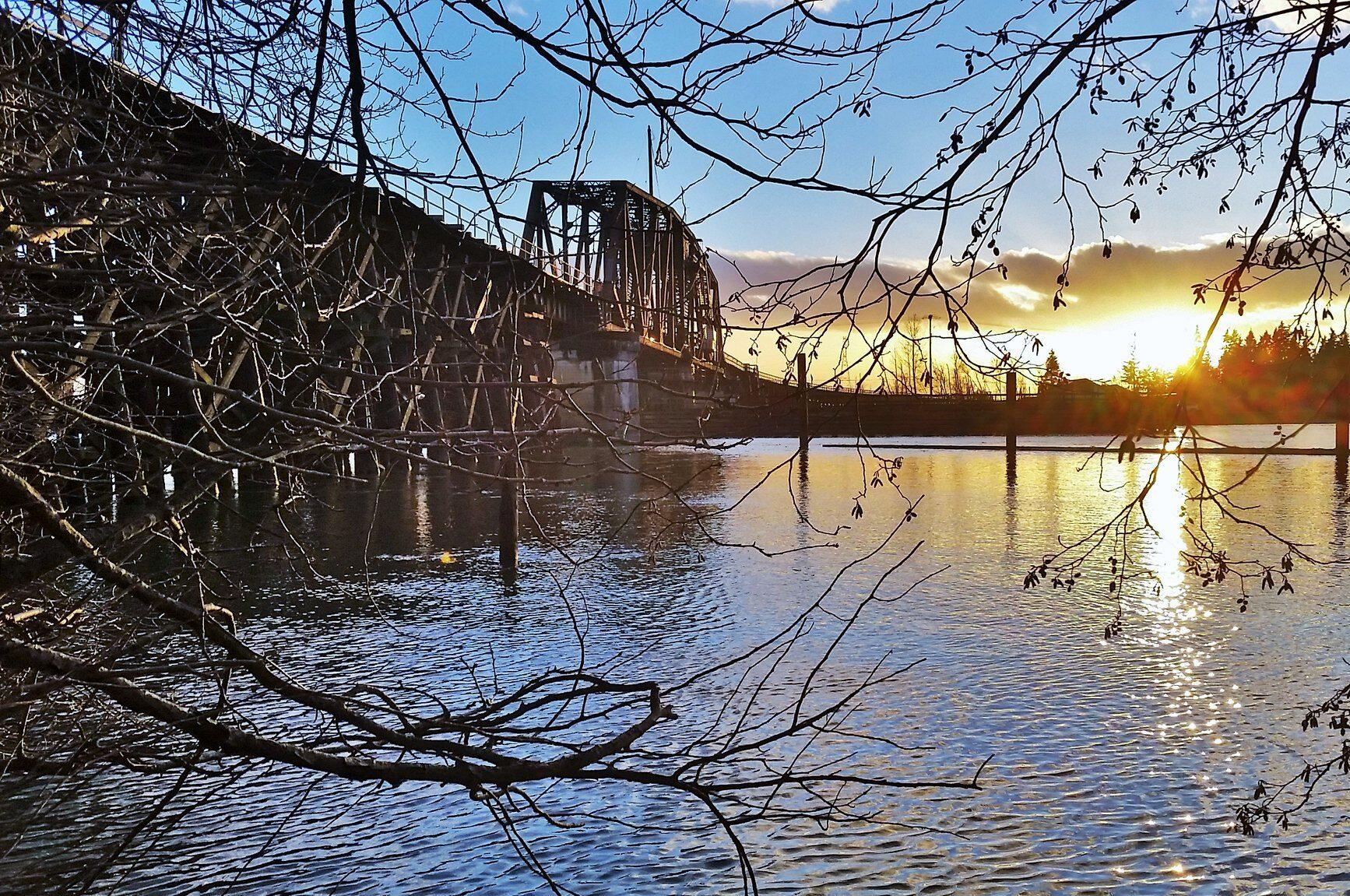 vancouver british columbia canada cnr bridge