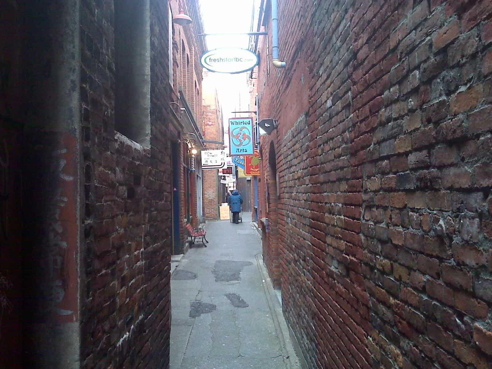 fan tan alley victoria canada